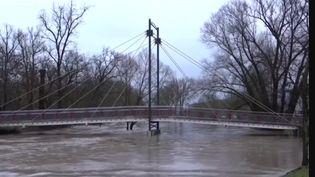 Eurozapping : l'Allemagne en proie à des inondations (Capture d'écran franceinfo)