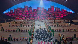 Cérémonie d'ouverture des Jeux olympiques de Rio, le 5 août 2016. (BRIAN SNYDER / REUTERS)