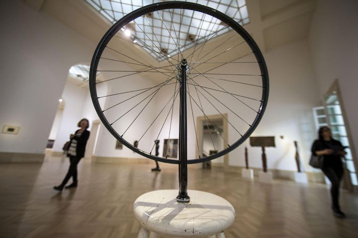 Exposition Duchamp, Rome - 2016  (MASSIMO PERCOSSI/EPA/Newscom/MaxPPP)