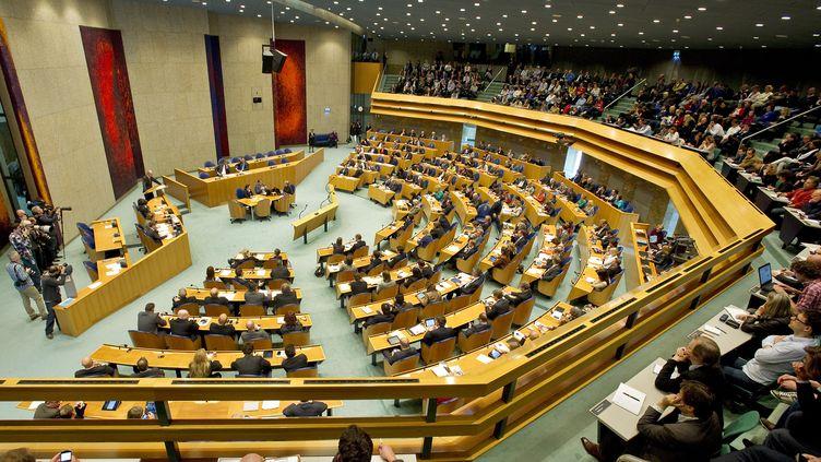 La chambre basse du Parlement néerlandais, à La Haye (Pays-Bas), le 24 avril 2012. (UNITED PHOTOS / REUTERS)