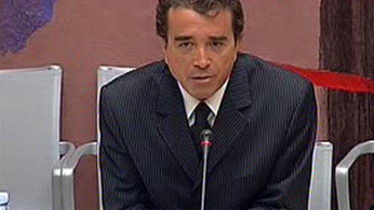 Arnaud Lagardère, président du groupe Lagardère (archives) (France 2)