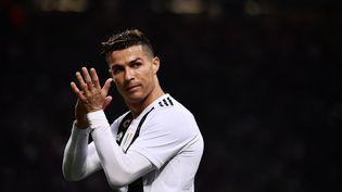 Cristiano Ronaldo, le 27 avril 2019. (MARCO BERTORELLO / AFP)