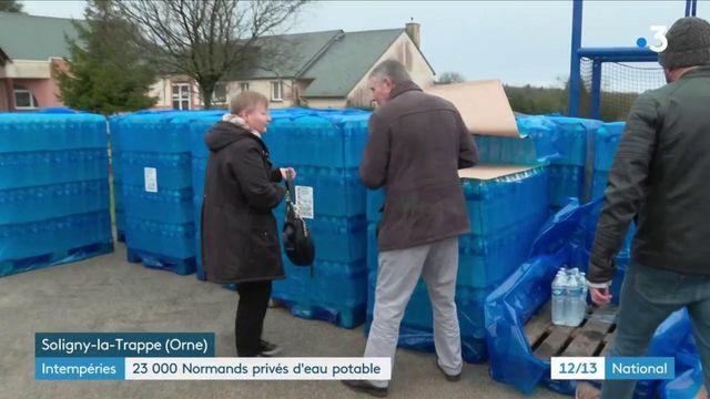 Intempéries : 23 000 Normands privés d'eau potable