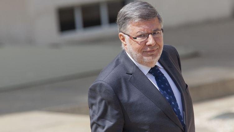 Alain Vidalies, le 17 juin 2015 à l'Elysée. (AURÉLIEN MORISSARD / CITIZENSIDE.COM / AFP)