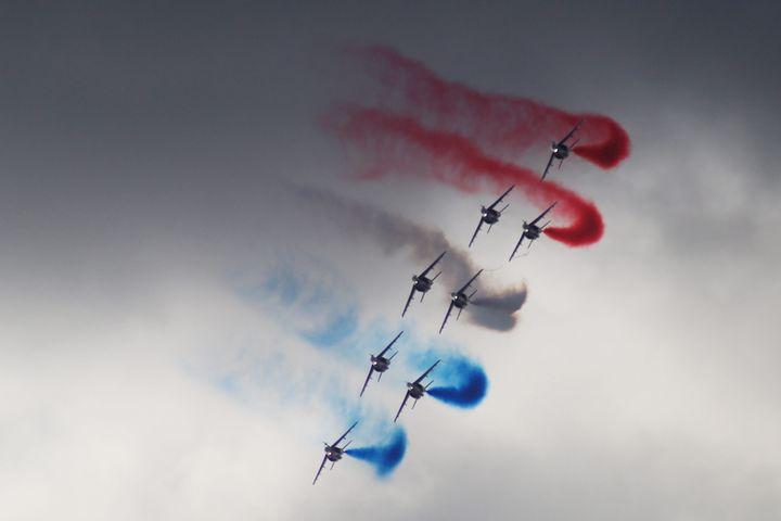 Meeting aérien de Pornichet avec la Patrouille de France. le 18 août 2019 (PHOTOPQR / PRESSE OCEAN / MAXPPP)