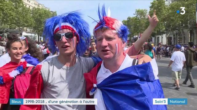 Coupe du monde : la victoire pour une nouvelle génération de supporters des Bleus
