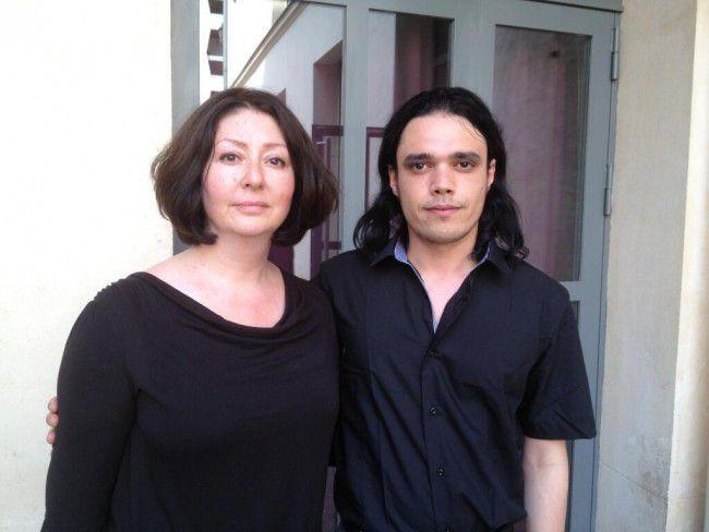 Maryam Namazie et Waleed al-Husseini, figures de proue des Ex-musulmans, le 6 juillet 2013 à Paris. (DR)
