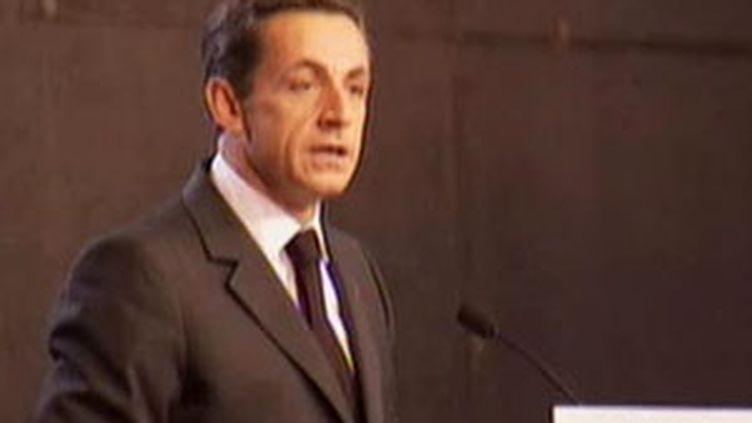 Nicolas Sarkozy à La Chapelle-en-Vercors, le 12/11/2009 (France3)