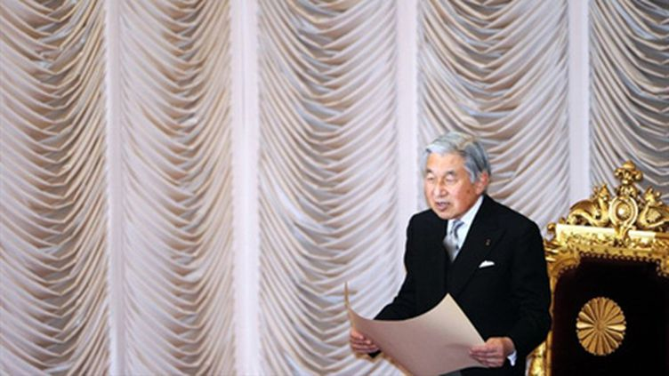 L'empereur du Japon Akihito en janvier 2011 (archive) (AFP/TOSHIFUMI KITAMURA)