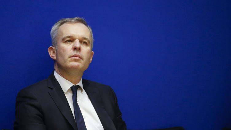 François de Rugy, ministre de la Transition écologique et solidaire, à Paris, le 13 février 2019. (LEON TANGUY / MAXPPP)