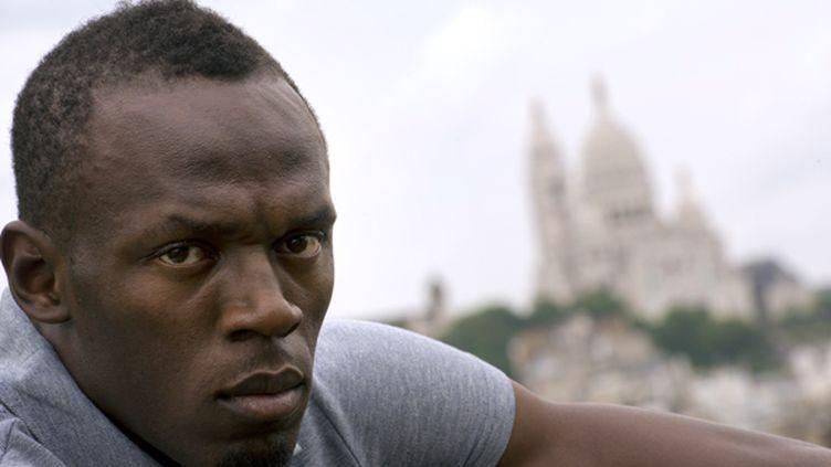 """Comme à son habitude, Usain Bolt entend bien écraser la """"concurrence"""".  (LIONEL BONAVENTURE / AFP)"""