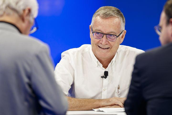 L'épidémiologiste Antoine Flahault,le 27 septembre 2019, àChamonix (Haute-Savoie). (VALENTIN FLAURAUD / CHAM / AFP)