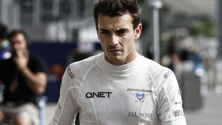 Le pilote français Jules Bianchi