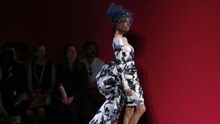 Schiaparelli haute couture automne-hiver 2014-15, à Paris  (FRANCOIS GUILLOT / AFP)