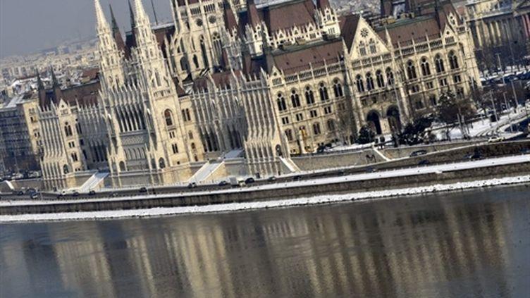 Le Parlement hongrois en bordure du Danube: ça tangue à Budapest... (AFP - ATTILA KISBENEDEK)