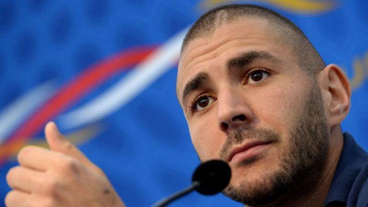 L'attaquant international, Karim Benzema