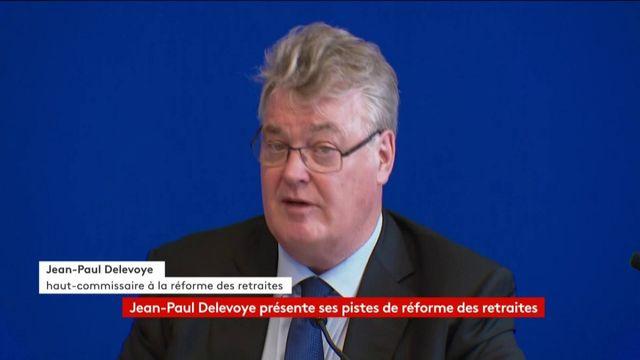 VIDEO. Le haut-commissaire Jean-Paul Delevoye évoque les conséquences du rapport pour les pensions des femmes