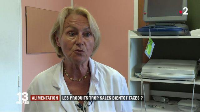 Une taxe en discussion sur les produits trop salés
