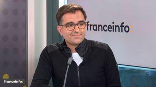 Nicolas Brusson, directeur général de BlaBlaCar, était l'invité de franceinfo mardi 19 ocotobre 2021. (FRANCEINFO / RADIO FRANCE)
