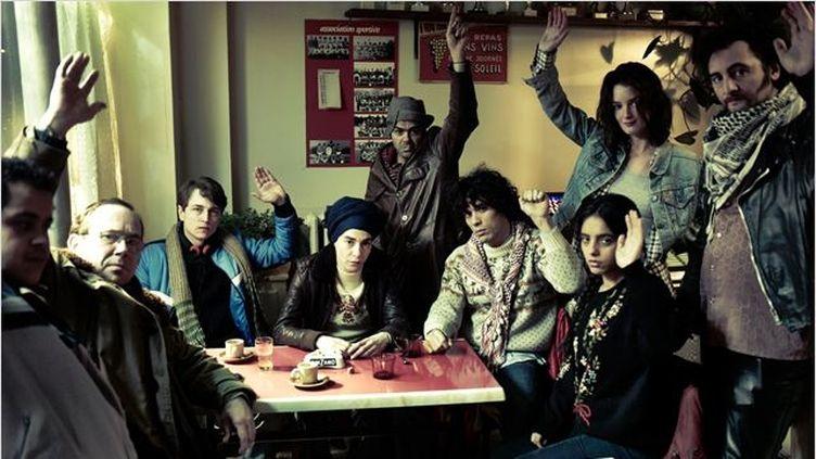 """""""La Marche"""" deNabil Ben Yadir  (2013 / CHI-FOU-MI PRODUCTIONS / EUROPACORP / FRANCE 3 CINEMA / KISS FILMS / ENTRE CHIEN ET LOUP / L'ANTILOPE JOYEUSE / Marcel Hartmann / Thomas Bremond )"""