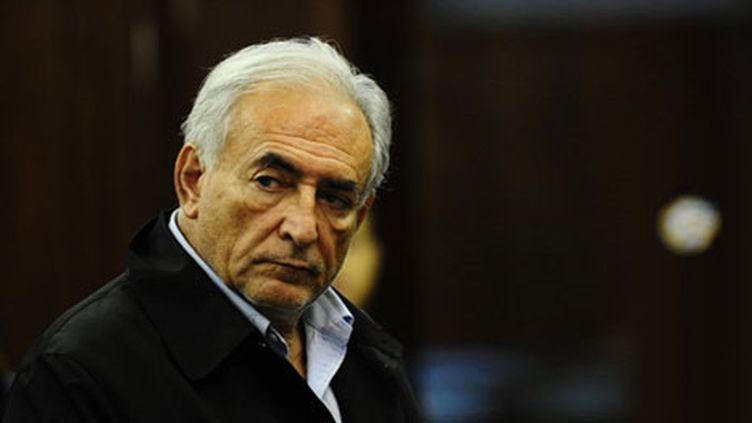 Dominique Strauss-Kahn devant la cour criminelle de New York le 16 mai. (AFP/Emmanuel Dunand)