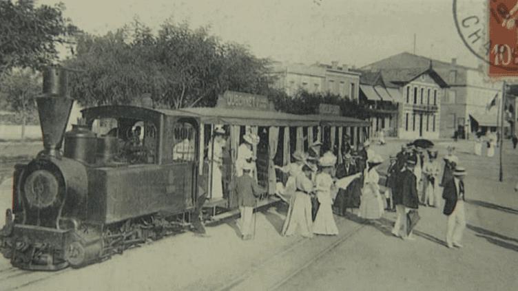 L'une des cartes postales exposées à Antibes (détail)  (France 3 / Culturebox)