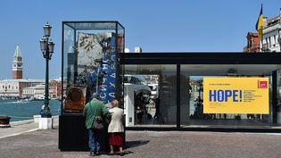 Biennale de Venise, le pavillon de l'Ukraine (7 mai 2015)  (Gabriel Bouys / AFP)