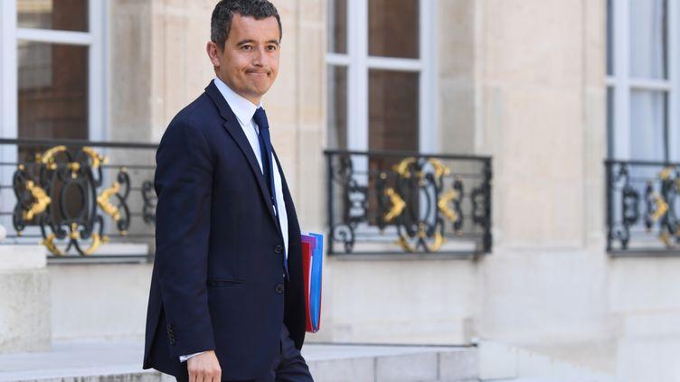 Le ministre de l'Action et des Comptes publics, Gérald Darmanin, à l'Elysée, le 9 mai 2018. (CHRISTOPHE ARCHAMBAULT / AFP)