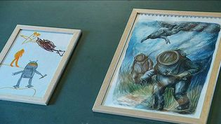 Ericailcane a revisité ses dessins d'enfants.  (Ericailcane / capture d'écran)