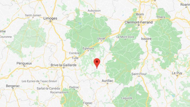 Pleaux (Cantal). (GOOGLEMAPS / FRANCEINFO)