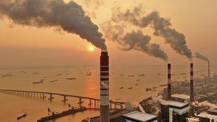 Une usine de charbon à Nantong en Chine, le 16 juillet 2021. (CHINATOPIX)