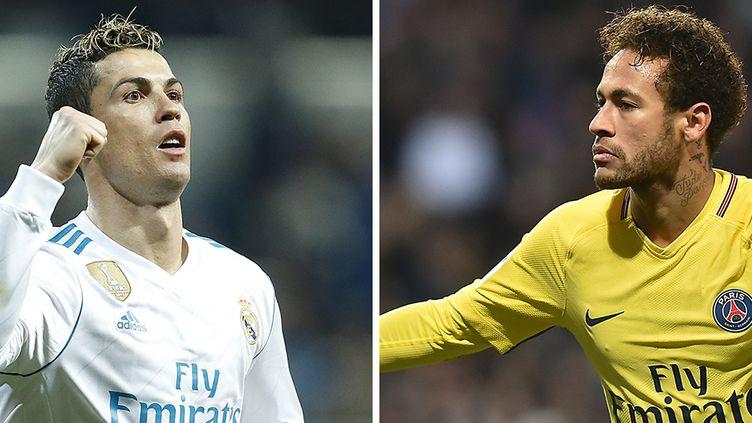 Le face-à-face Cristiano Ronaldo (Real Madrid) et Neymar (PSG)