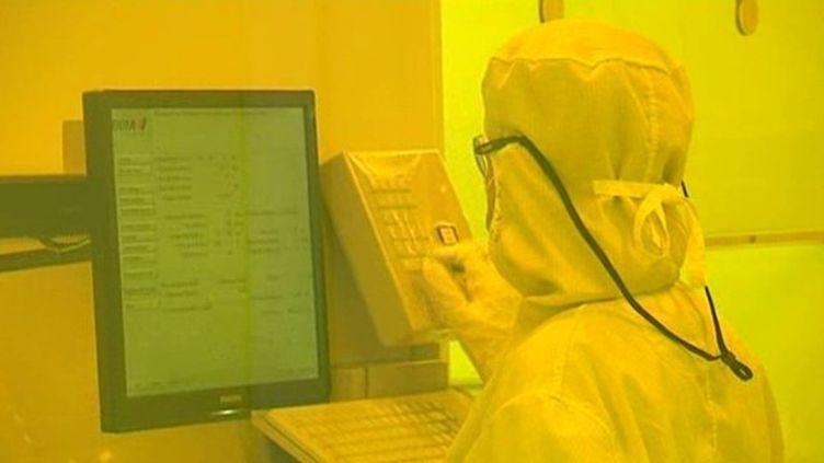 Un laboratoire du Commissariat à l'énergie atomique de Grenoble (Isère). (FRANCE 3 ALPES)