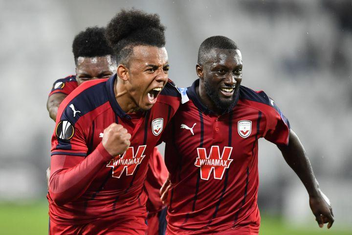 La rage des joueurs bordelais (NICOLAS TUCAT / AFP)