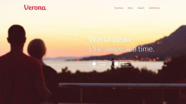 Verona est une application pour mobiles, dédiées aux rencontres entre Israéliens et Palestiniens. (VERONA)