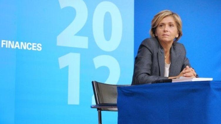 Valérie Pécresse mise sur un rebond de croissance au deuxième semestre. (AFP - ERIC PIERMONT)