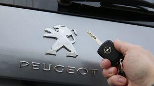 PSA Peugeot Citroën a officialisé le rachat d'Opel le 6 mars 2017 (MAXPPP)