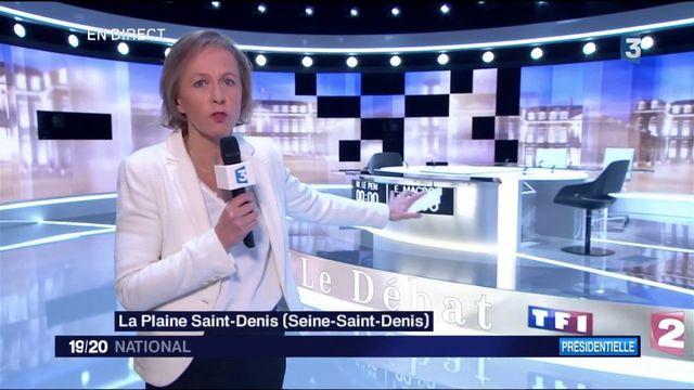 """Débat de l'entre-deux-tours : """"Marine Le Pen prendra la parole en premier"""""""