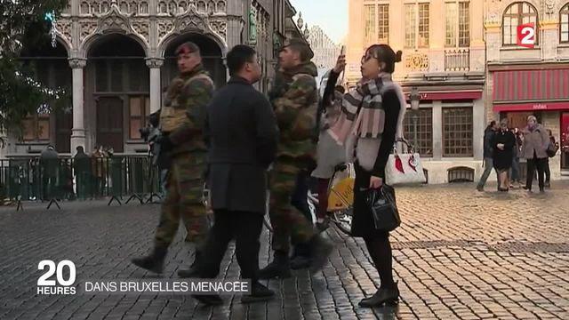 Menace terroriste en Belgique : prolongation de l'état d'alerte maximal à Bruxelles