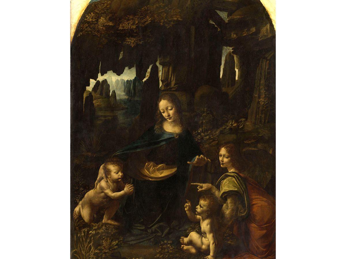 Leonard De Vinci Au Louvre La Peinture Pour Recreer Le Monde