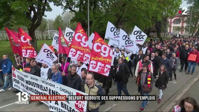 Emploi :  A Belfort, la peur des salariés de General Electric pour leurs postes