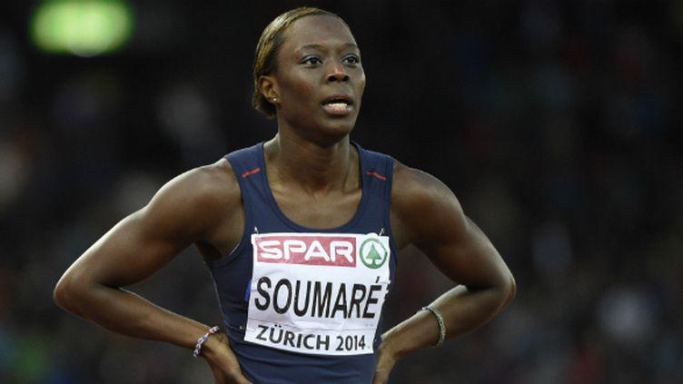 La sprinteuse française Myriam Soumaré