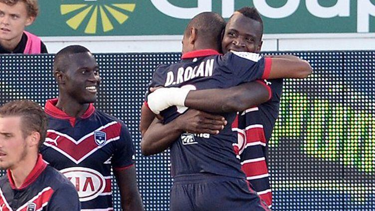 Cheick Diabaté s'est offert un doublé contre Sochaux. (JEAN-PIERRE MULLER / AFP)