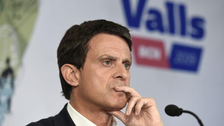 Manuel Valls, le 29 mais 2019. (JOSEP LAGO / AFP)