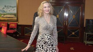 Madonna au Malawi en novembre 2014  (Tsvangirayi Mukwazhi/AP/SIPA)