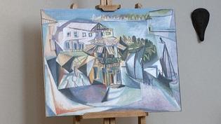 """""""La Chambre du Café des Bains"""" vue de la chambre de Picasso à Royan  (France 3 / Culturebox)"""