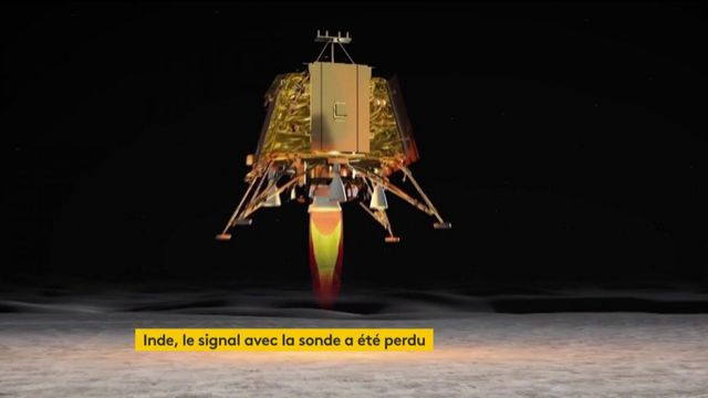 Lune : le contact avec la sonde indienne a été perdu