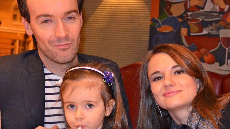 Yoann Barbereau,ancien directeur de l'Alliance française d'Irkoutsk, enSibérie,sur une photo fournie par sa famille et prise le 31 décembre 2012. (AFP)