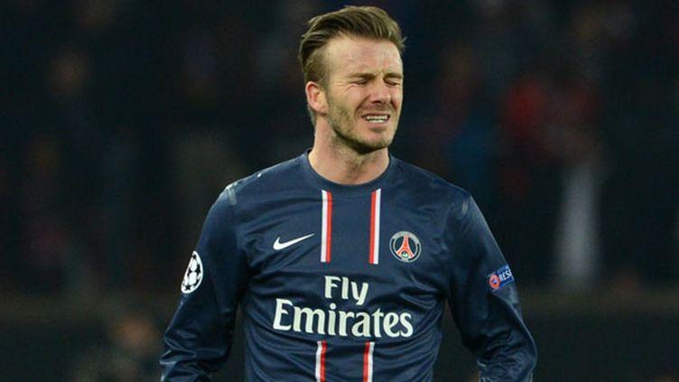 David Beckham, le milieu de terrain du PSG