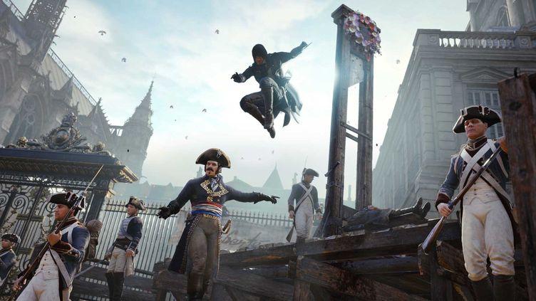 Le Paris de la Révolution reconstitué  (Ubisoft /capture d'écran)